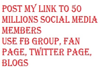 I want some one promote my affiliate link to social media