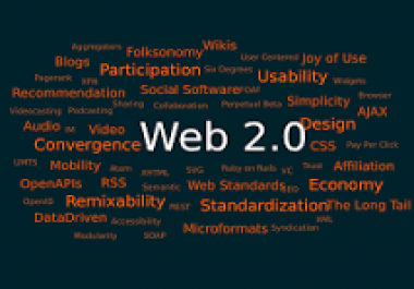 Creation of 40 Web 2.0 accounts