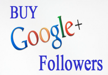 google plus follower