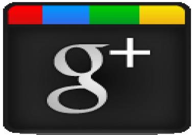 9000 Google+ Circle