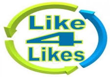 4k like4like points instant