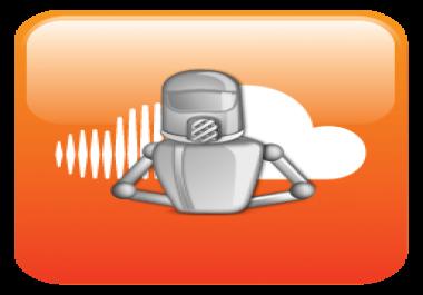 SoundCloud bot for Mac