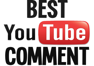 25 custom YouTube video comments