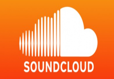 2,000 Soundcloud Plays w/Likes & Reposts NO COMMENTS in 24 hours Split Between 2 Songs