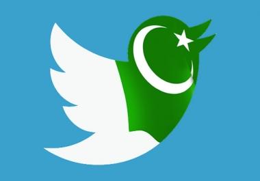 I need Pakistani Tw Followers