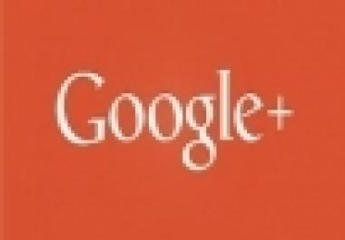 2000 Google+ Circle