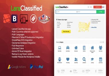 Install php script laraclassified