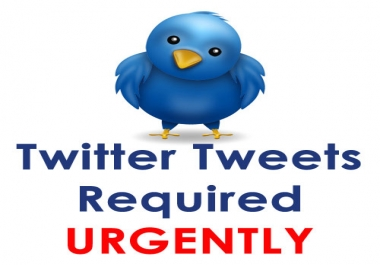 Want to buy 100 Custom Twitter Tweets