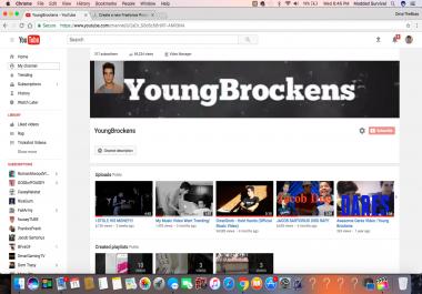 50,000 YouTube Subscribers