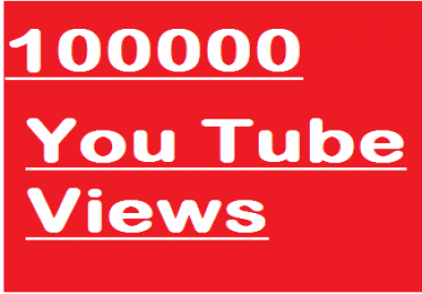 100000 You Tube Views