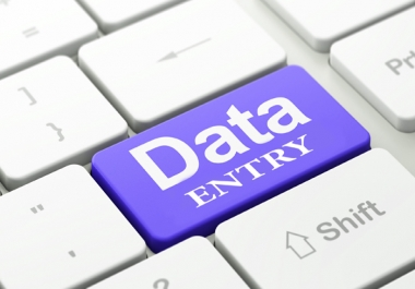 Basic Data Entry work,  Long Term 40k Entries Needed