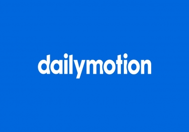 100 Dailymotion Followers