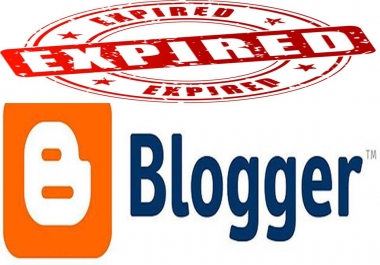 I want 50 expired blogspot blogs with pa 27