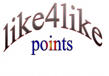 8K Like4like credits