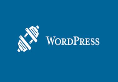 html instalation on wordpress