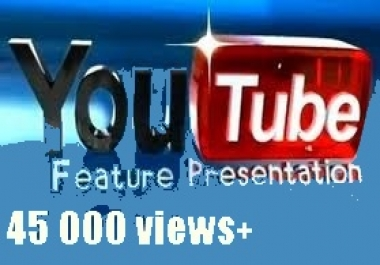 I need 40.000+ views Youtube 1-2 days