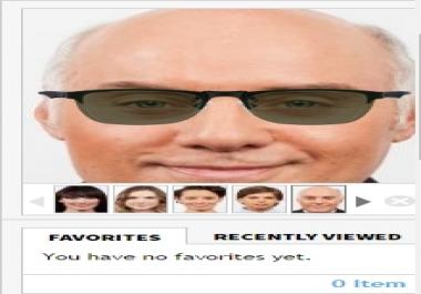 2D Virtual Eyewear Try On