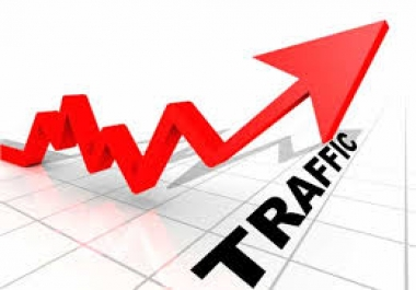 100,000 REAL web traffic
