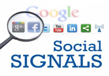 many social signals quality