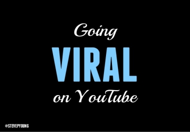 Make my music video viral,  real media campaign