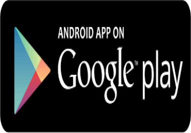 I need a lot of real app downloads in google play