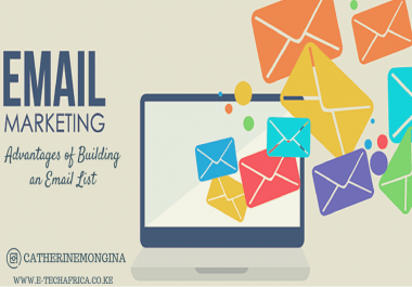 African Email marketing list for affiliatemarketing