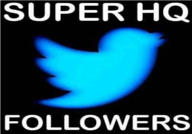 1k High Quality + High Retention USA Twitter Follow