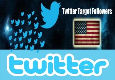 4k USA HQ Drip-Feed Twitter Service