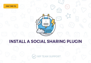 Social Share Pop Up Index requirement