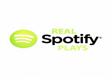 50K+ real plays for SPOTlFY