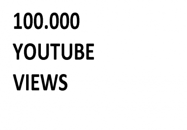 Youtube views best price for 100k