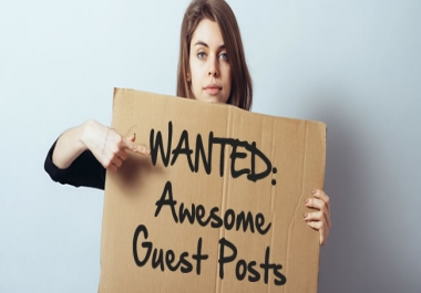 Wanted Guest Post - Tech Niche - Very Long term