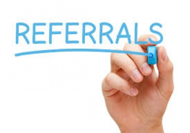 Active and real referrals