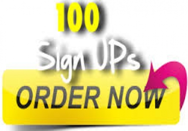 NEED 100 REAL HUMAN SIGN UP URGENTLY