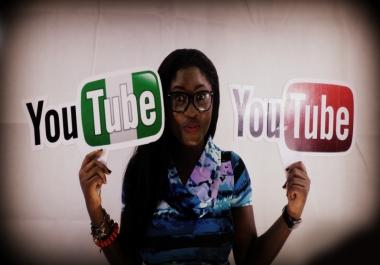 Nigeria Fast 30k YouTube Views