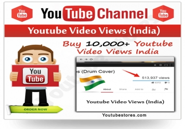 I need Youtube Indian Views - High Retention Adsense Safe