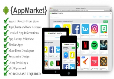 We are after google play clone script site