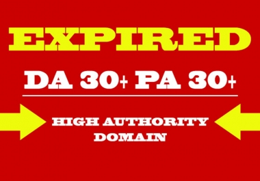 provide you 30 expired domain weebly web2