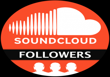50,000 SOUNDCLOUD FOLLOWERS