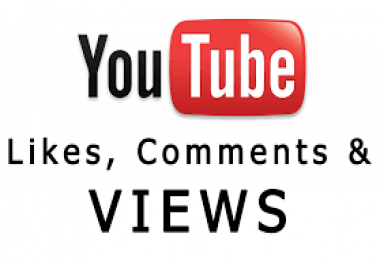 Need 30k views high retention youtube dip speed 1500 + custom comments italian accounts