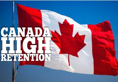 50,000 Canada HIGH Retention Views ONLY
