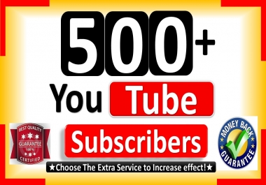 Non drop 700 youtube subscriber guaranteed