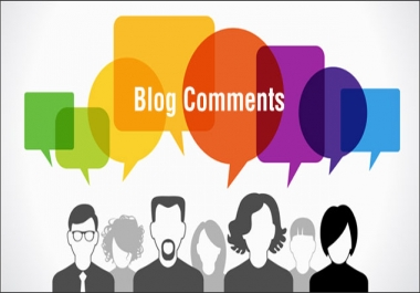 I want to purchase 50 genuine blog comments to my own blog.