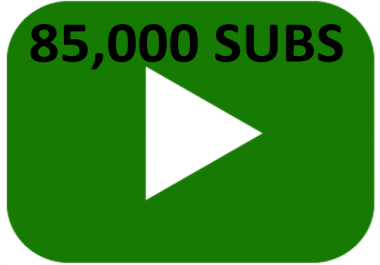85,000 85k subscribers needed