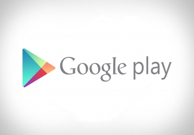 Need 20k google play apps download
