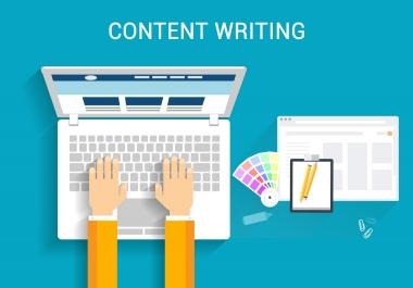 Need Content Writer. Urgent