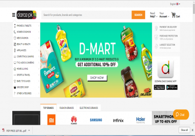 complete multivendor marketplace in woocommerce like Daraz. pk/goto. com. pk
