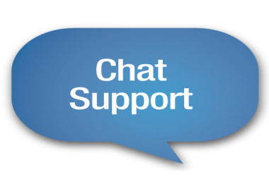 We're hiring men and women for online chat support