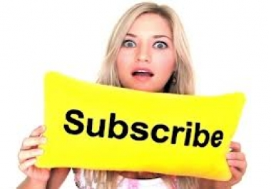 want 500 you tube subscribers for two links