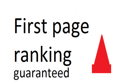 Rank my site on first page